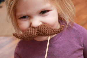 Young female moustache - easymakesmehappy