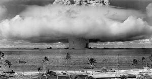 Atoll nuclear test